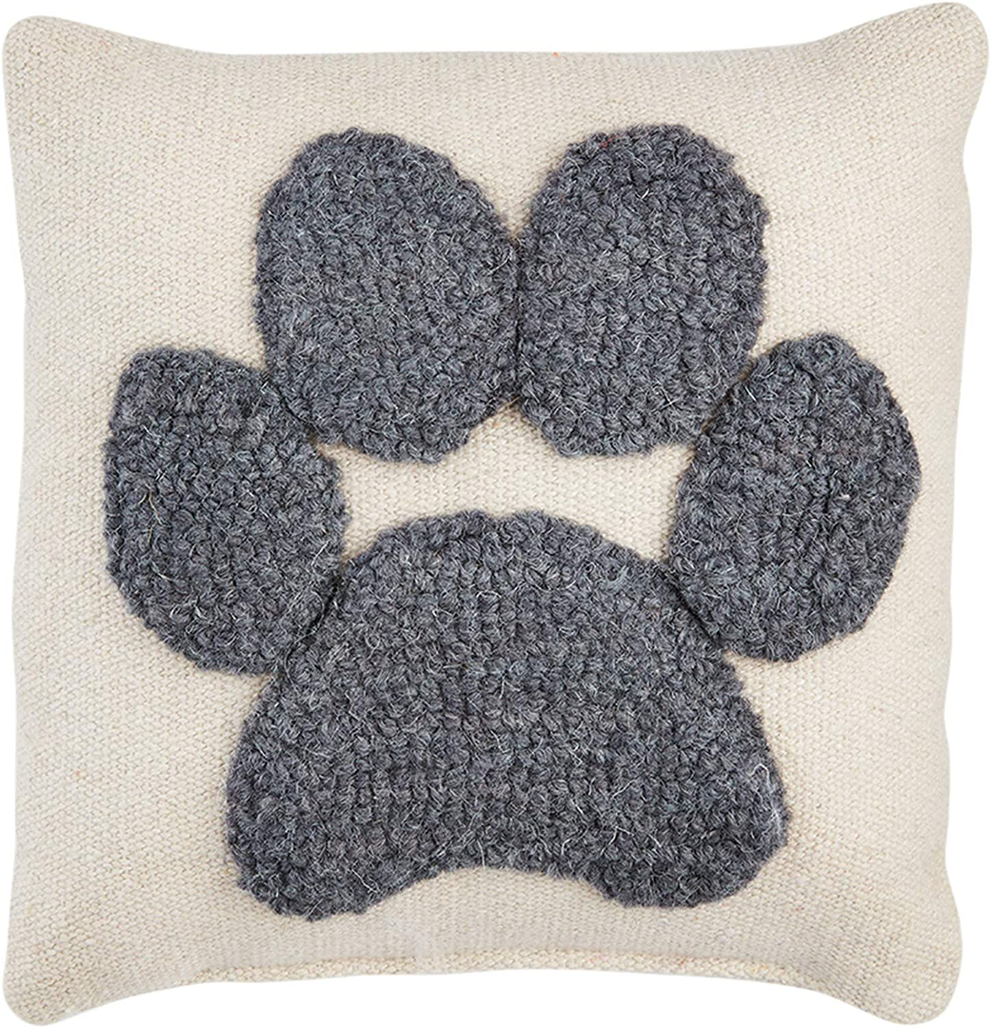 Mud Pie Small Seattle Mall Canvas Hook Paw 2021 new Pillow Dog