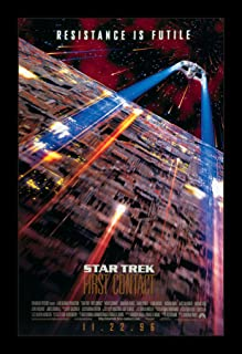 Star Trek First Contact - 11x17 Framed Movie Poster by Wallspace