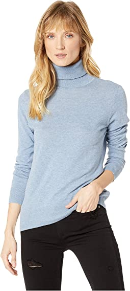 Cotton Blend Long Sleeve Sweater
