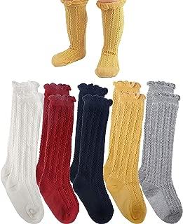 toddler green knee high socks
