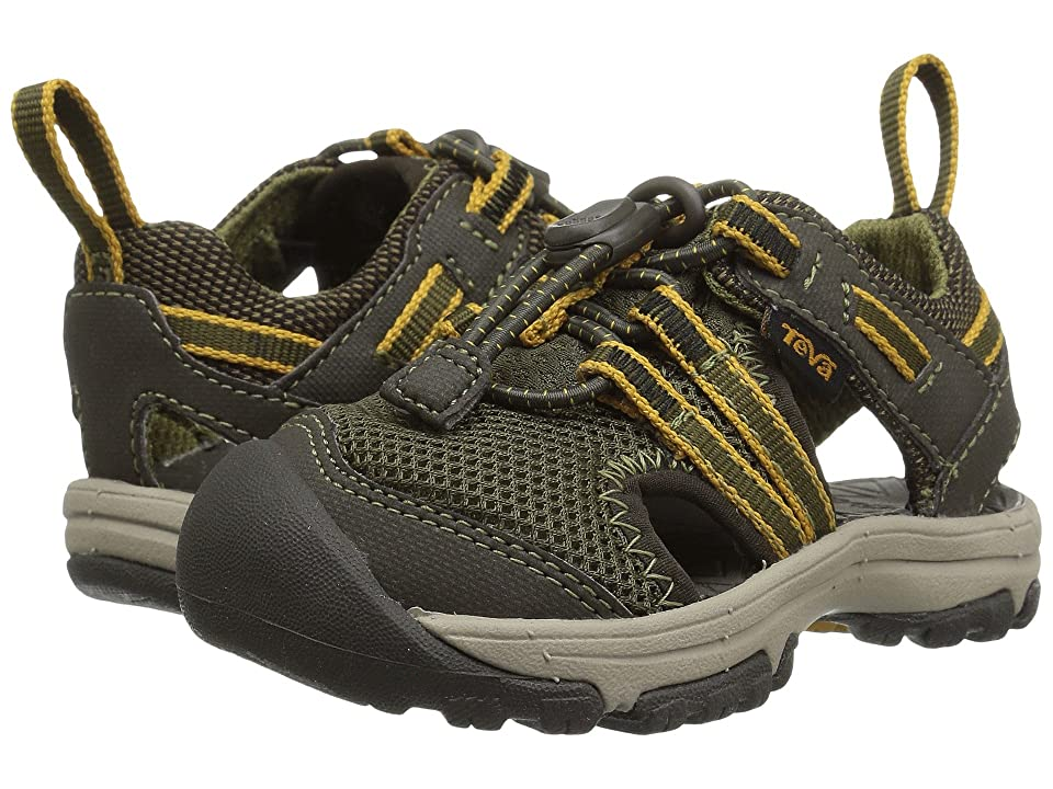 Teva Kids Manatee (Toddler) (Dark Olive) Boys Shoes