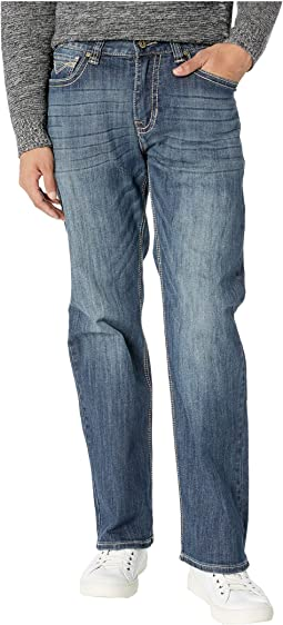 Reflex Double Barrel Jeans in Dark Wash M0S8654