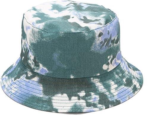 green dip dye bucket hat cool edgy