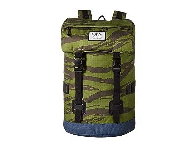 Burton Tinder Pack (Keef Tiger Ripstop Print) Backpack Bags