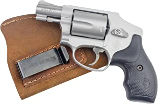 Relentless Tactical The Ultimate Suede Leather IWB Holster - Made in USA - Fits Most J Frame Revolvers - Ruger LCR - Smith and Wesson Body Guard - Taurus - Charter & Most .38 Special Type Guns