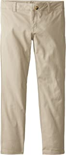 Lee Uniforms Big Girls' Original Skinny Leg Stretch Twill Pant