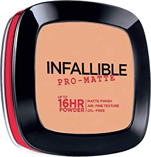 L'Oreal Paris Infallible Pro-matte Powder Foundation, Natural Beige (# 200), 6g