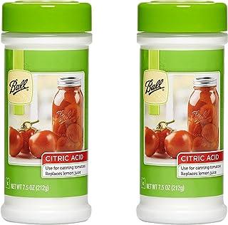 Set of 2 Ball Citric Acid 7.5 oz. Jar bundled by Maven Gifts
