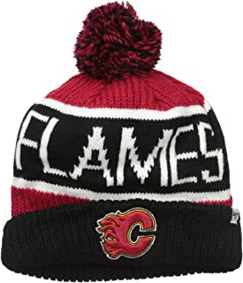 `47 NHL Adult Men`s Calgary Cuff Knit Hat