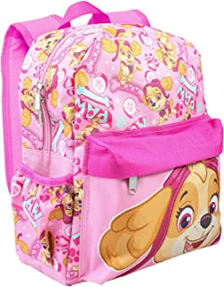 "Paw Patrol Allover Print Skye 12"" Girls Small Backpack"