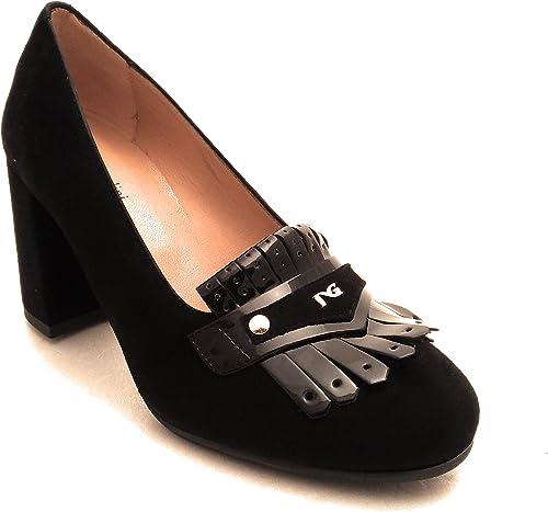 noir Giardini paniers pour Femme Noir Noir