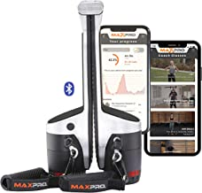 MAXPRO Fitness: Cable Home Gym | Versatile, Portable, Smart, Bluetooth Connected | 2-Year Warranty Included (Strength, HII...