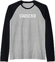 Starfucker Star Fucker Raglan Baseball Tee