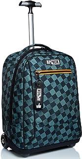 Big Trolley Appack, Yuzer, Verde, 2 in 1 Spallacci per uso Zaino, Scuola & Viaggio