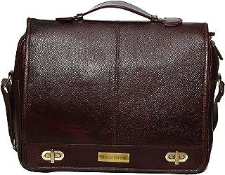 BAG JACK - The Perfect Business Trip Companions Octantis | Handcrafted | Natural Grain | Men Office Bag | Leather Laptop B...