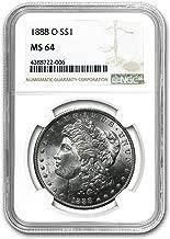 1888 O Morgan Dollar MS-64 NGC $1 MS-64 NGC