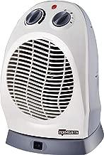 Ventilator Termozeta Stehleuchte 120/cm Elegante 3/Fl/ügel halbtransparent f/ür einen modernen Stil Beno ̈ Motor 50/W f/ür ein Luftstrom hohen Farbe Wei/ß mit grauen Details.