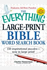 The Everything Large-Print Bible Word Search Book: 150 inspirational puzzles - now in large print! Paperback
