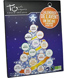 Calendrier de l'avent - thés bio - 24 sachets - Nouvelles recettes !