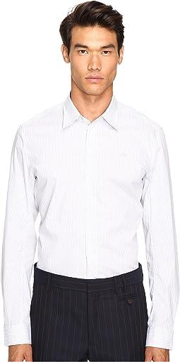 Stretch Stripe Poplin Shirt