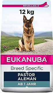 EUKANUBA Breed Specific Alimento seco para perros pastor alemán adultos, alimento para perros óptimamente adaptado a la ra...