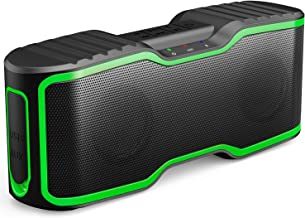 AOMAIS Sport II Portable Wireless Bluetooth Speakers Waterproof IPX7, 15H Playtime, 20W Bass Sound, Stereo Pairing, Durable Design Backyard, Outdoors, Travel, Pool, Home Party Green