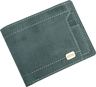 Hammonds Flycatcher Light Turquoise Vintage Leather Wallet for Men|7 Card Slots| 1 Coin Pocket|2 Hidden Compartment|2 Currency Slots|1 ID Compartment
