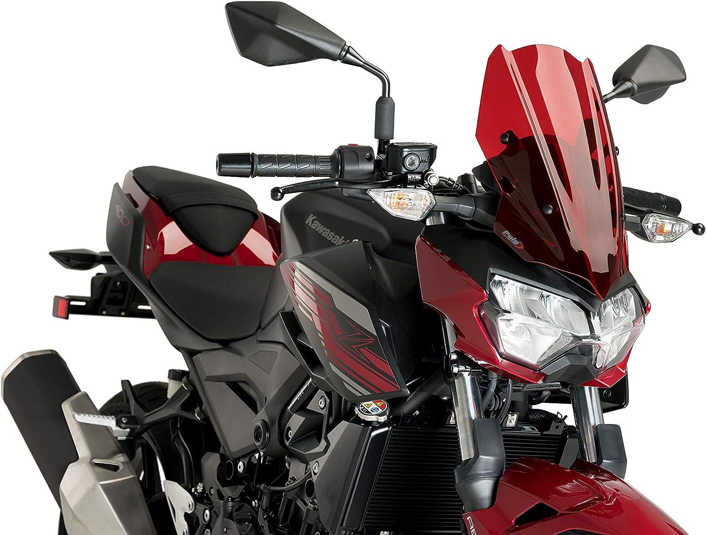 Puig 2021 Windshield Naked Ranking TOP4 New Generation Kawasaki for 3548R Sport Z4