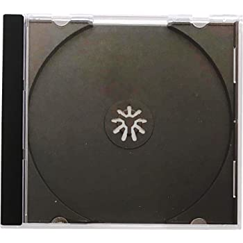 10pk. Trays White Only CD Jewel Box