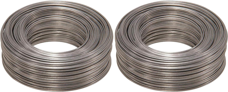 20 x 175 20 Gauge Galvanized Hobby Wire The Hillman Group 123106 Steel