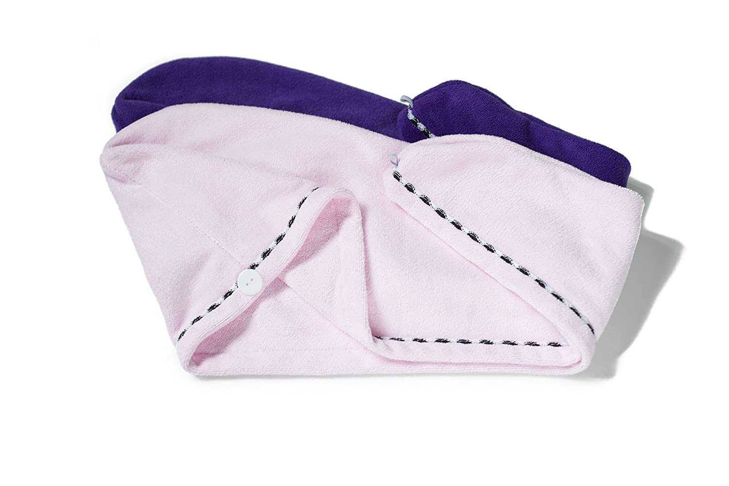 Hair Drying Towel Super Absorbent Max 68% OFF Turban Excellent Pack Wrap - 2 Pu Style