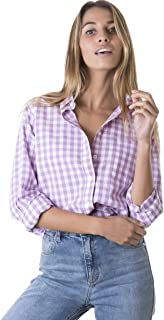 Best purple and white checkered shirt Reviews