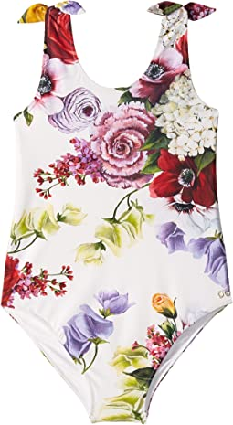 Flowers Mix Swimsuit One-Piece (Big Kids)