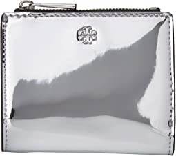 Tory Burch - Robinson Mirror Metallic Mini Wallet