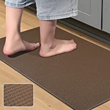 MAPLEZ Kitchen Rug Anti-Fatigue Comfort Mat Non Slip Cushioned Comfort Standing Floor Mat Kitchen Mat for Kitchen, Gaming,...