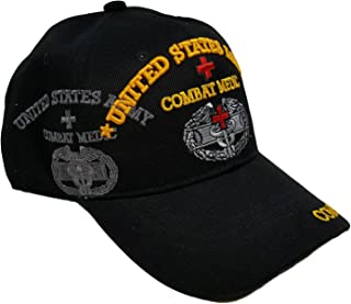 US Military Army Combat Medic Black Officially Licensed Cap