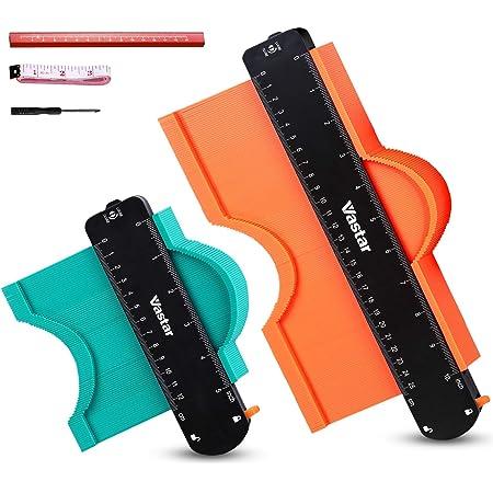 "Y6D6 Widen 1x Contour Gauge Duplication Profile Ruler Measuring /&10/"" 5/"" Tool"