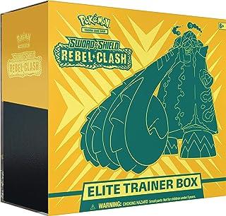 Pokémon TCG: Sword & Shield-Rebel Clash Elite Trainer Box | 8 Booster Packs | Genuine Cards