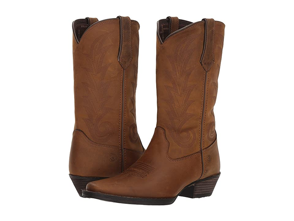 Durango Western 11 Narrow Square Toe (Brown Sugar) Cowboy Boots