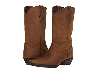 Durango Western 11 Narrow Square Toe (Brown Sugar) Cowboy Boots