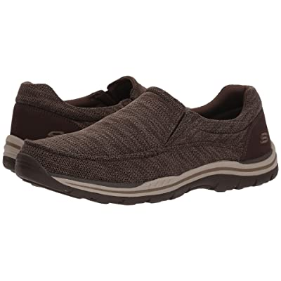 SKECHERS Relaxed Fit Expected Given (Chocolate) Men
