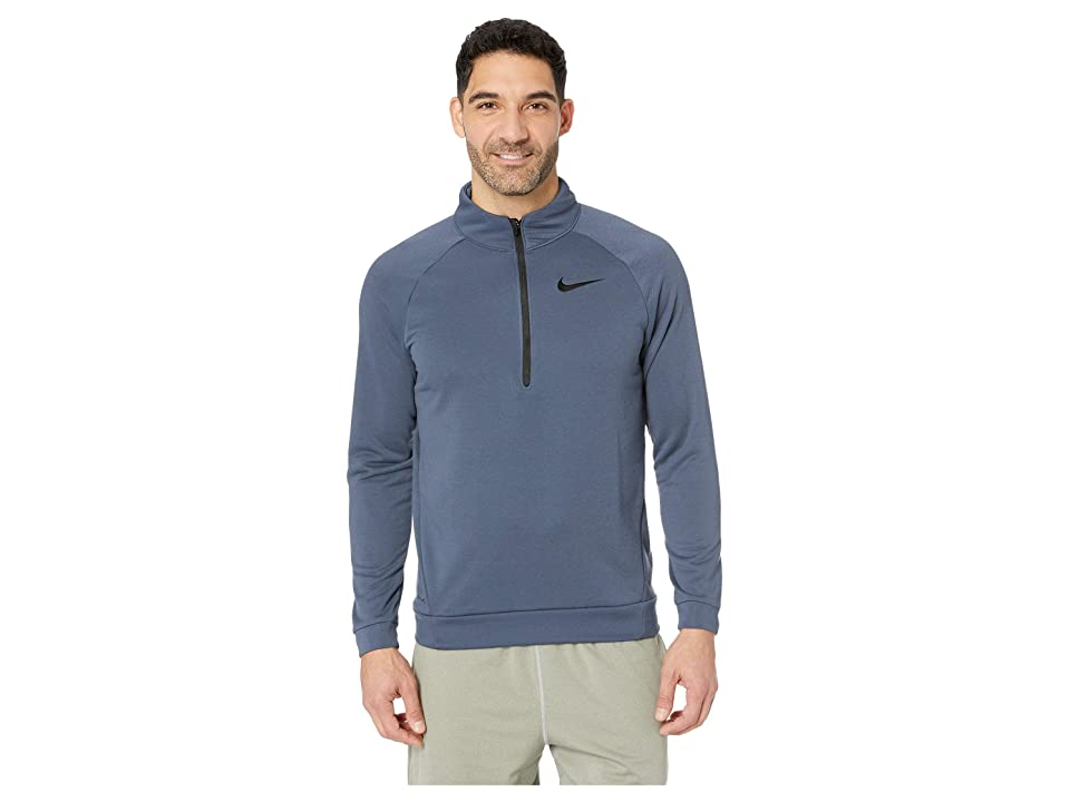 Nike Dry Training 1/4 Zip Top (Thunder Blue/Black) Men