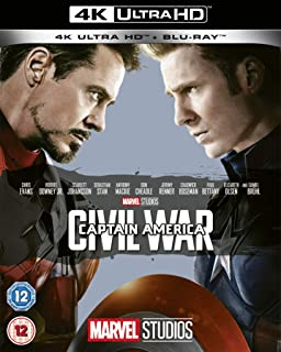 Captain America: Civil War UHD [Blu-ray] [2019] [Region Free]