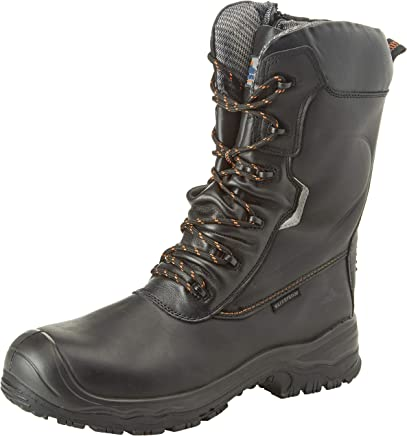 b753dfd0461 Portwest Tractionlite S3 HRO Boot 10 Black 6.5: Amazon.co.uk: Shoes ...
