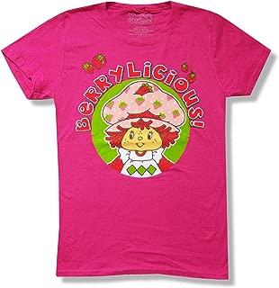 Strawberry Shortcake Berrylicious Juniors Pink T Shirt