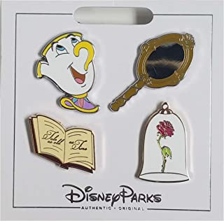 beauty and the beast disney pin