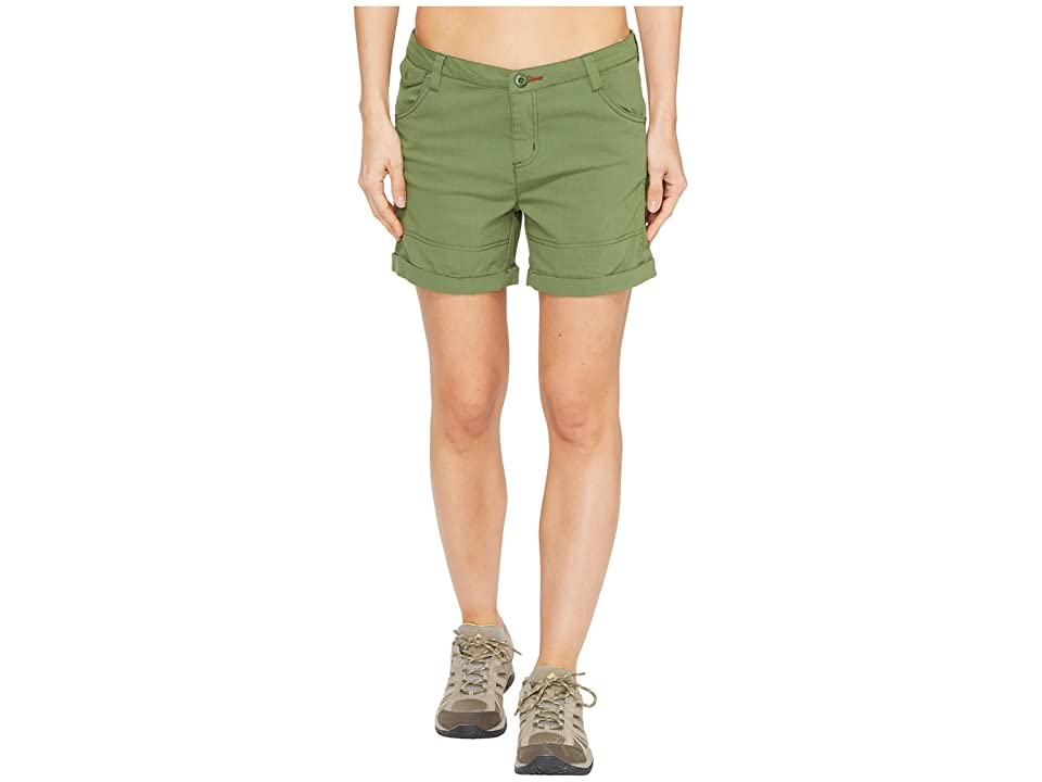 Toad&Co Summitline Hiking Shorts (Kale) Women