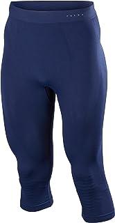 FALKE Men's M Ti Maximum Warm 3/4 Tights-Sports Performance Fabric, (Black 3000), S, 1 Piece