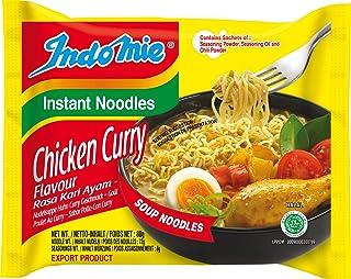 Indomie Fideos Instantáneos, Curry Pollo - 40 Paquetes