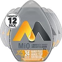 MiO Liquid Water Enhancer, Mango Peach, 48mL (Pack of 12)